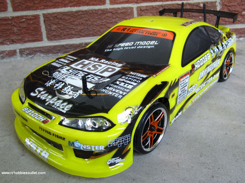 RC Drift Car  yellow