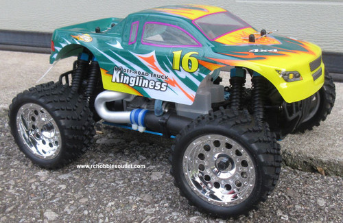 RC Nitro Monster Truck 1/16 Scale 2.4G 4WD RTR 28610G