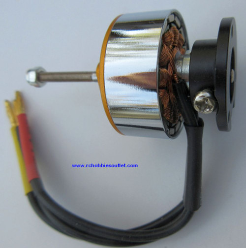 FMS Brushless Motor 2408-KV 1700 (long shaft)  for Airplane