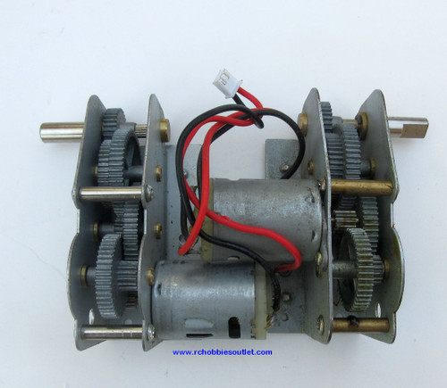 Heng Long Metal Gear and Motor Unit  For  RC Panzer III Tank 3848