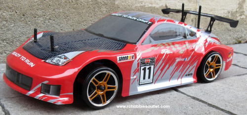 RC Drift Car Electric 2.4G Radio Remote Control RTR 1/10 12310