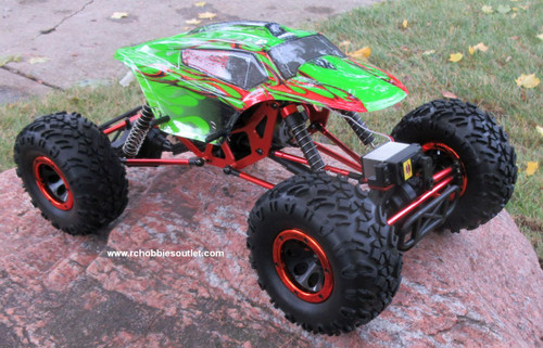 RC Rock Crawler Truck T2 1/10 Scale 2.4G RTR 4WD  18095 GR