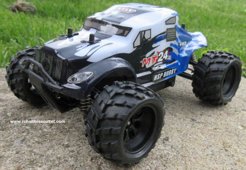 MT24 Monster RC Truck HSP Electric 4WD 2.4G  1/24th Scale 24692