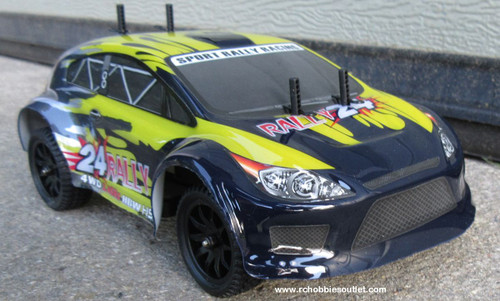 RALLY24 RC Rally Car HSP Electric 4WD 2.4G  1/24th Scale 24891