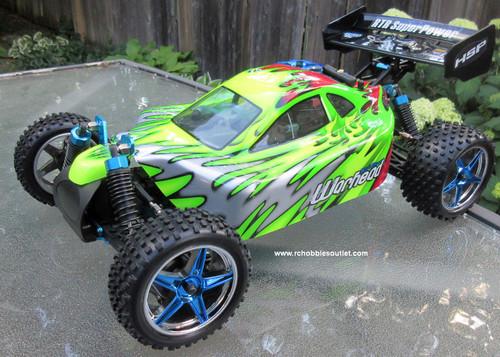 RC NITRO Buggy / Car  HSP WARHEAD 2 Speed 2.4G 1/10 Scale 10707 B