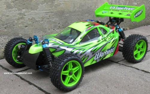 RC Nitro Buggy / RC Car  HSP WARHEAD 2 Speed 2.4G 1/10 RACE 10707 G