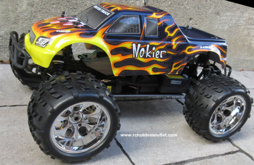 RC Nitro RC Truck 1/8 Scale   Nokier 4.57cc Engine  4WD 2 Speed 2.4G 08304