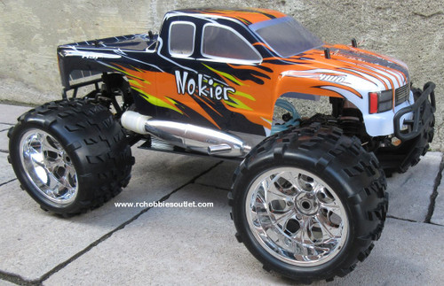 Nitro RC Truck 1/8 Scale   Nokier 4.57cc Engine  4WD 2 Speed  2.4G 86291