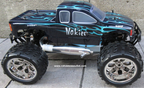 Nitro RC Truck 1/8 Scale   Nokier 4.57cc Engine  4WD 2 Speed  2.4G 86298
