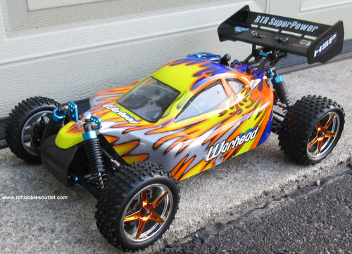 RC Nitro Buggy HSP WARHEAD 2 Speed 2.4G 1/10 Race Car 10706