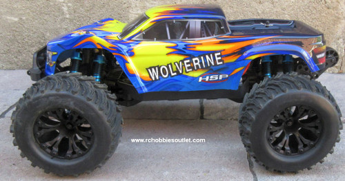 Wolverine Pro RC Truck Brushless Electric 1/10 4WD LIPO 2,4G 70191