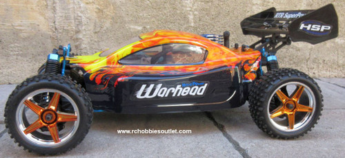 RC Nitro Gas Buggy / RC Car  HSP WARHEAD 2 Speed 2.4G 1/10 RACE 10737