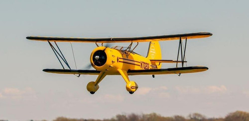 "RC Airplane  DYNAM WACO YMF-5D Yellow 1270mm (50"") PNP"
