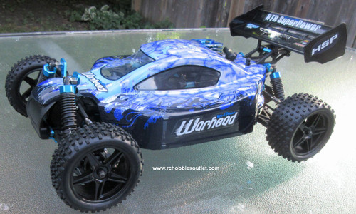 RC Nitro Buggy / RC Car  HSP WARHEAD 2 Speed 2.4G 1/10 RACE 10738