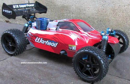 RC Nitro Gas  Buggy / RC Car  HSP WARHEAD 2 Speed 2.4G 1/10 RACE 10750
