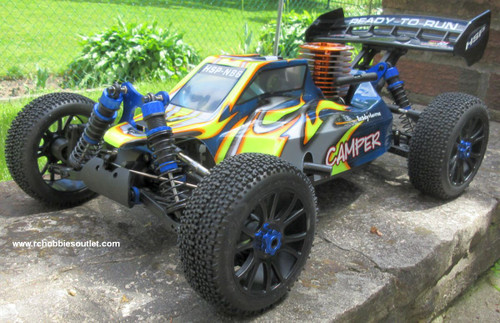 RC Buggy / Car  NB6 4.25cc Nitro Gas Engine 1/8 Scale  4WD 2.4G 97091