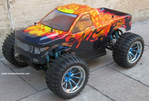 RC Monster Truck Brushess Electric 1/10 PRO LIPO 2.4G 4WD 88067