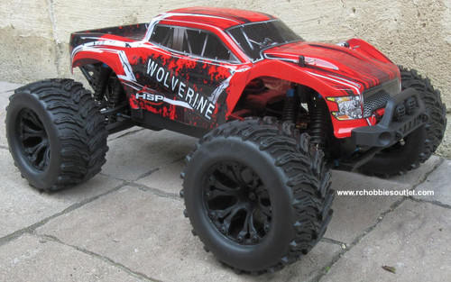 Wolverine Pro RC Truck Brushless Electric 1/10 4WD LIPO 2,4G 70195