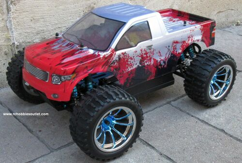 RC Monster Truck Brushess Electric 1/10 PRO LIPO 2.4G 4WD 88073