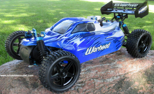 RC Nitro Gas  Buggy / RC Car  HSP WARHEAD 2 Speed 2.4G 1/10 RACE 10749
