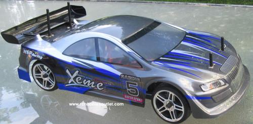 RC Nitro Gas Race Car Radio Remote Control 2.4G 1/10 01052 4WD 01033_A