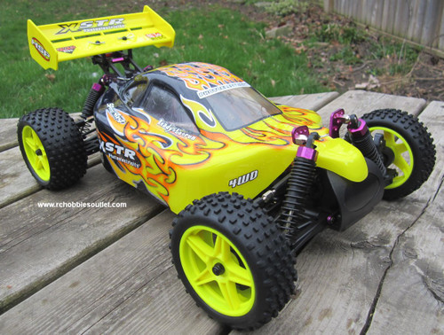 94107 RC Buggy / car  electric Yellow cover