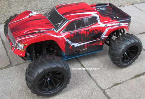Wolverine  RC Truck Electric 1/10 Scale  4WD 2,4G 70195