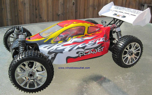 RC Car / Buggy  Brushless Electric 1/8 Scale TOP2 PRO LIPO 4WD  81355