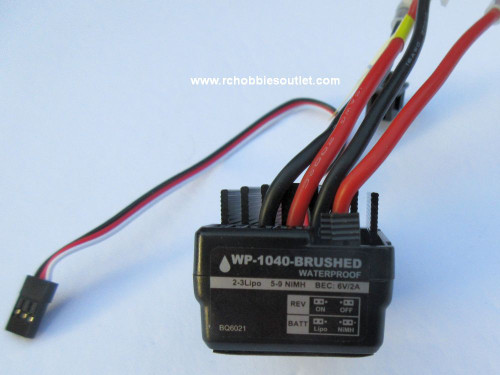 WP-1040 Brushed Waterproof Electronic Speed Controller ( ESC)