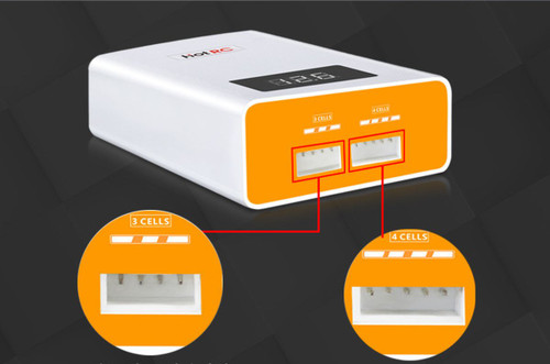 HOT RC A400 40W Compact LiPo Battery Balance Fast Charger   3 - 4 Cell LIPOs