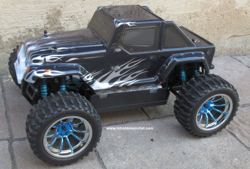 RC Brushless Electric Truck 1/10 Scale  PRO LIPO 2.4G 4WD  12111 BL