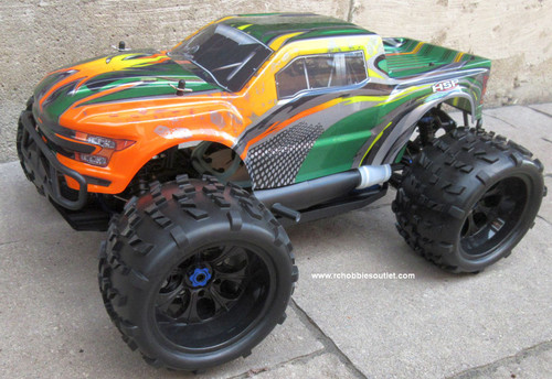 RC Nitro RC Truck 1/8 Scale  Savagery 4.25cc Engine  4WD  2.4G 97093