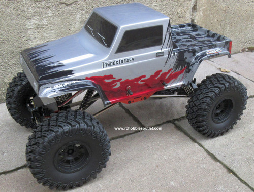 RC Rock Crawler Truck Inspector 4 Wheel Steering 1/10 Scale 2.4G 4WD 11092