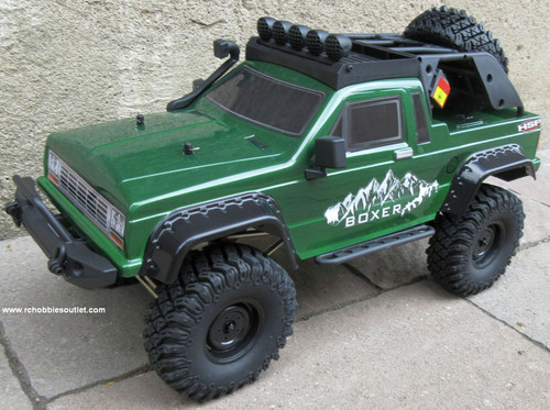 RC PRO 1 Crawler/Trail Truck BOXER Electric 1/10 Scale RTR 2.4G 4WD  70685