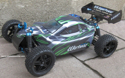 RC Nitro Gas  Buggy / RC Car  HSP WARHEAD 2 Speed 2.4G 1/10 RACE 10070-1