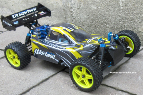 RC Nitro Gas  Buggy / RC Car  HSP WARHEAD 2 Speed 2.4G 1/10 RACE 10070-2