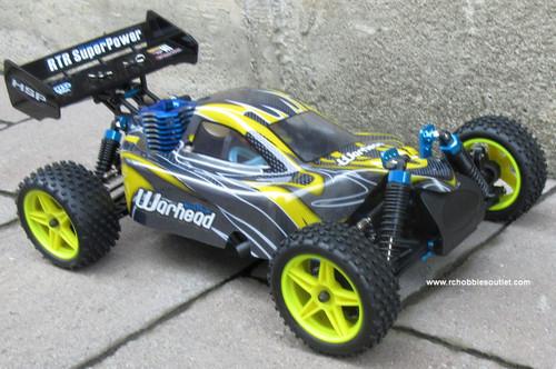 RC Nitro Gas  Buggy / RC Car  HSP WARHEAD 2 Speed 2.4G 1/10 RACE 10070-2