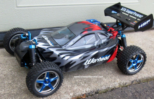RC Nitro Gas  Buggy / RC Car  HSP WARHEAD 2 Speed 2.4G 1/10 RACE 88801