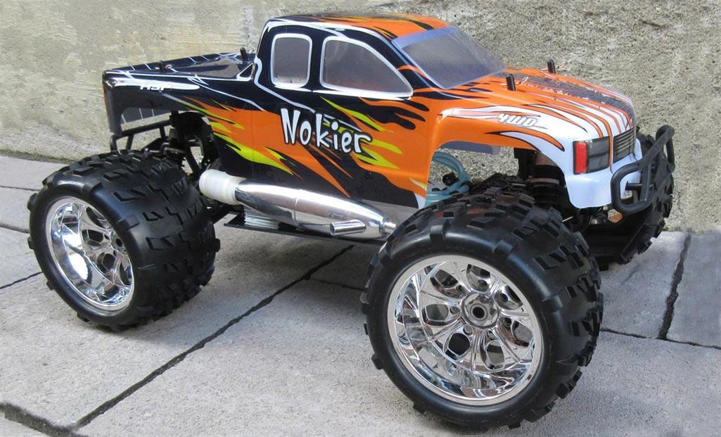 Nitro Gas RC Cars