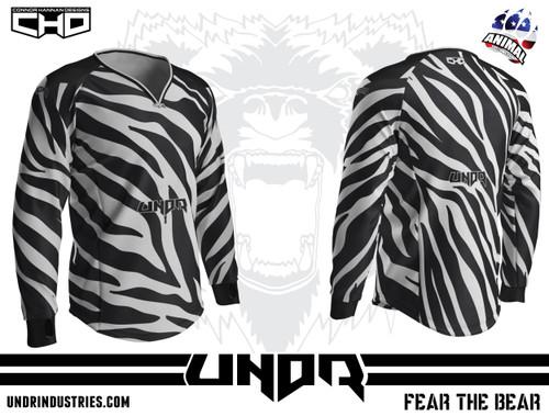 Zebra Semi Custom Jersey