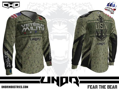 Veteran Militia - 2016 Navy Jersey