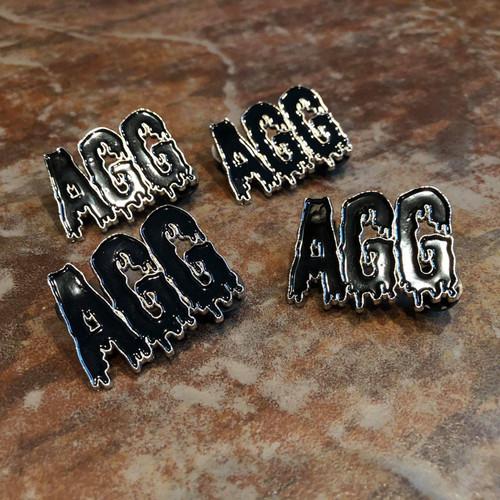 Dripping AGG Trading Pin