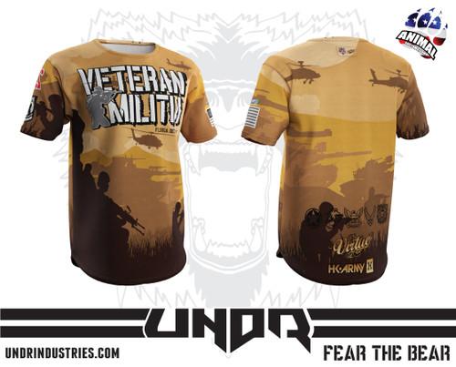 Florida Det Veteran Militia Tech Shirt