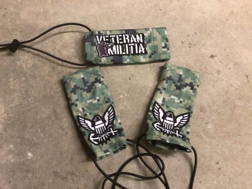 Veteran Militia Barrel Sock - Navy