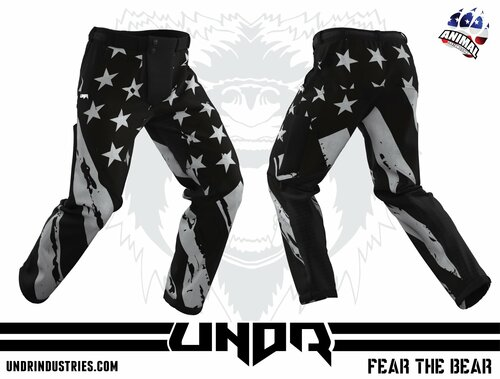 UNDR RECON PANTS - Black Out USA