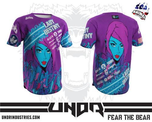 Destiny Lady Tech Shirt