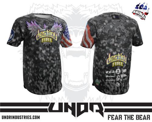 Destiny Fire Tech Shirt