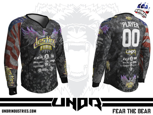 Destiny Fire Jersey