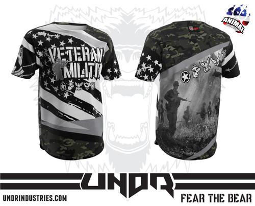 Eternal Patrol Veteran Militia Tech Shirt