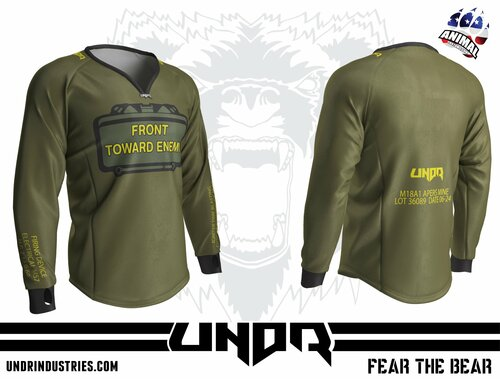 Front Towards Enemy Semi Custom Jersey